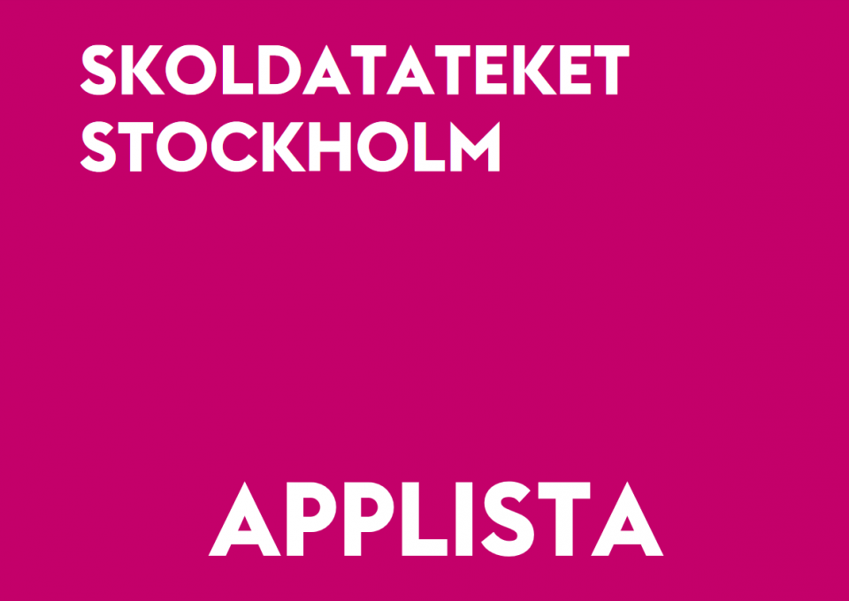Skoldatateket Stockholm