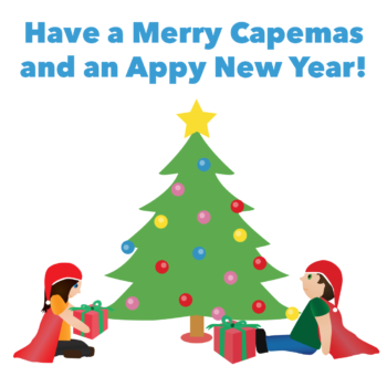 Have a Merry Capemas and an Appy New Year!