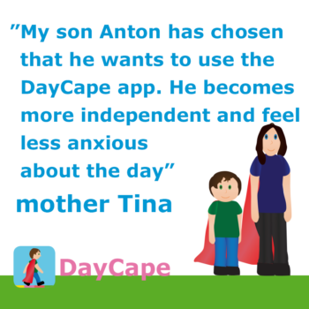 12-year-old Anton is more independent and less worried