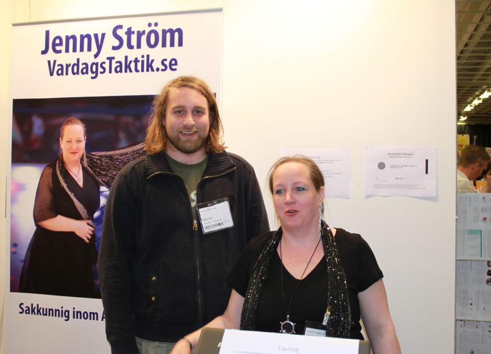 Anton Håkanson och Jenny Ström på Leva & Fungera