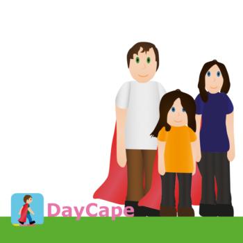 Med DayCape är Tekla gladare än vanligt